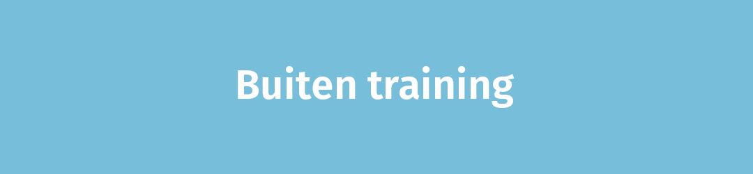 Buiten training