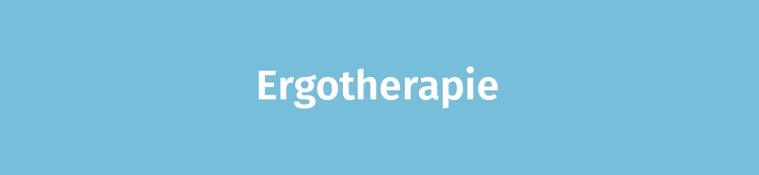 Ergotherapie