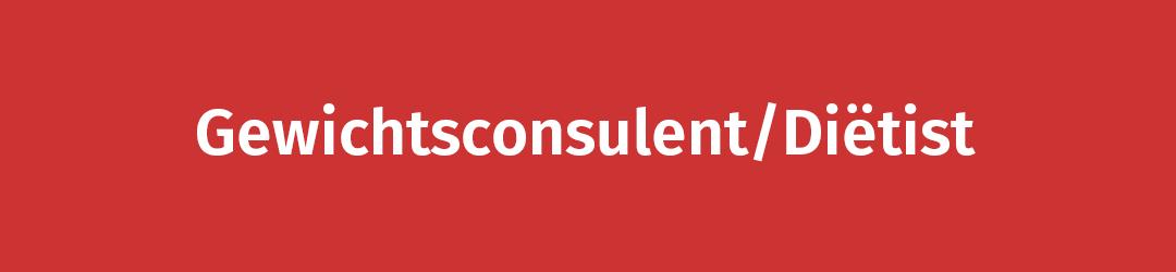 Gewichtsconsulent/Diëtist